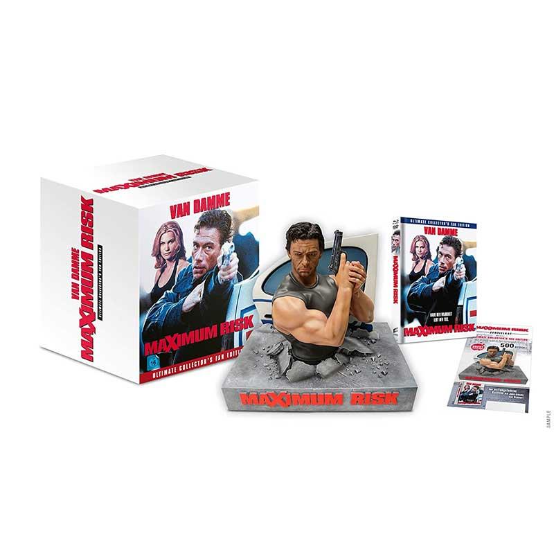 """Maximum Risk"" in der Ultimate Collectors Fan Edition (Blu-ray) für 72,24€"