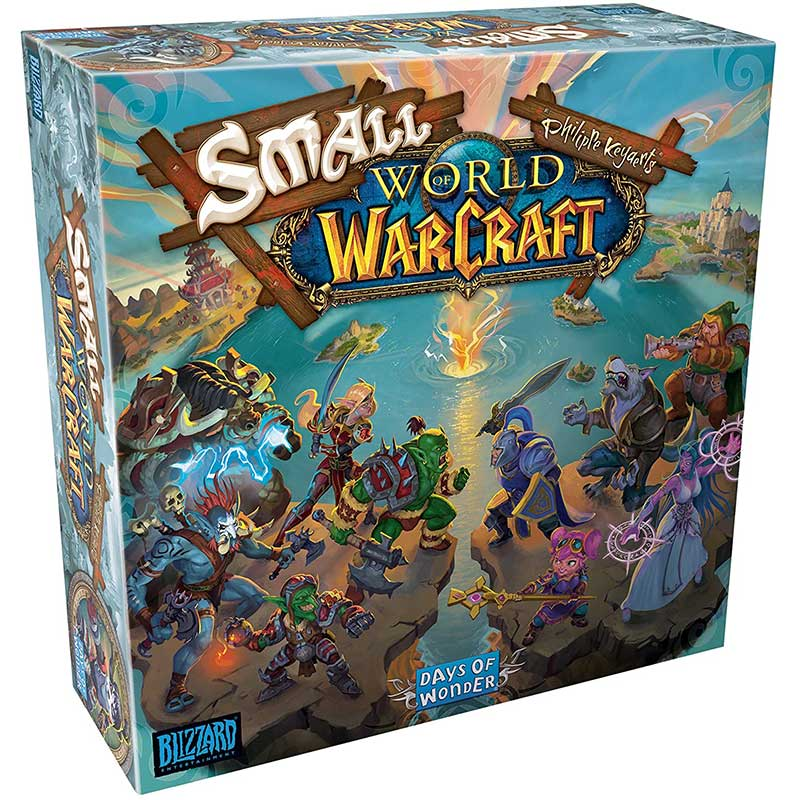 """Small World of Warcraft"" Brettspiel"