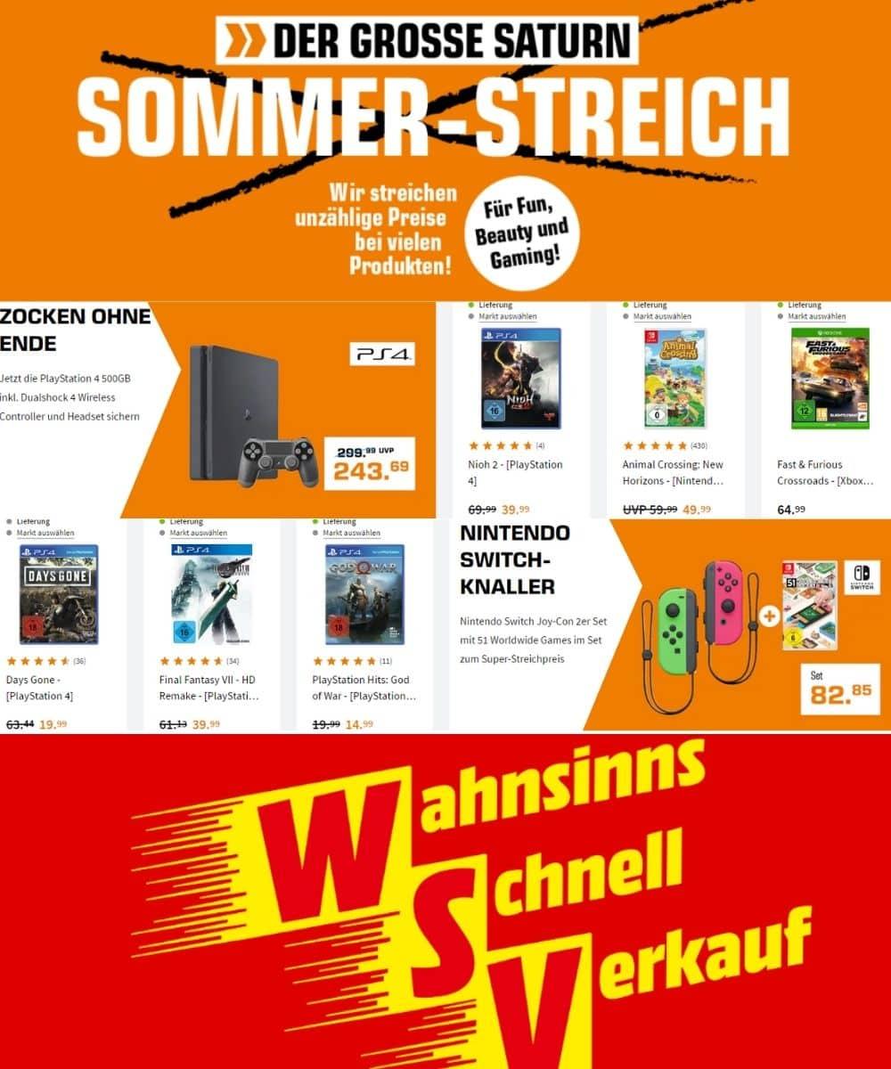 """""""Wahnsinns-Schnell-Verkauf"""" und """"Der Große Sommer-Streich"""""""