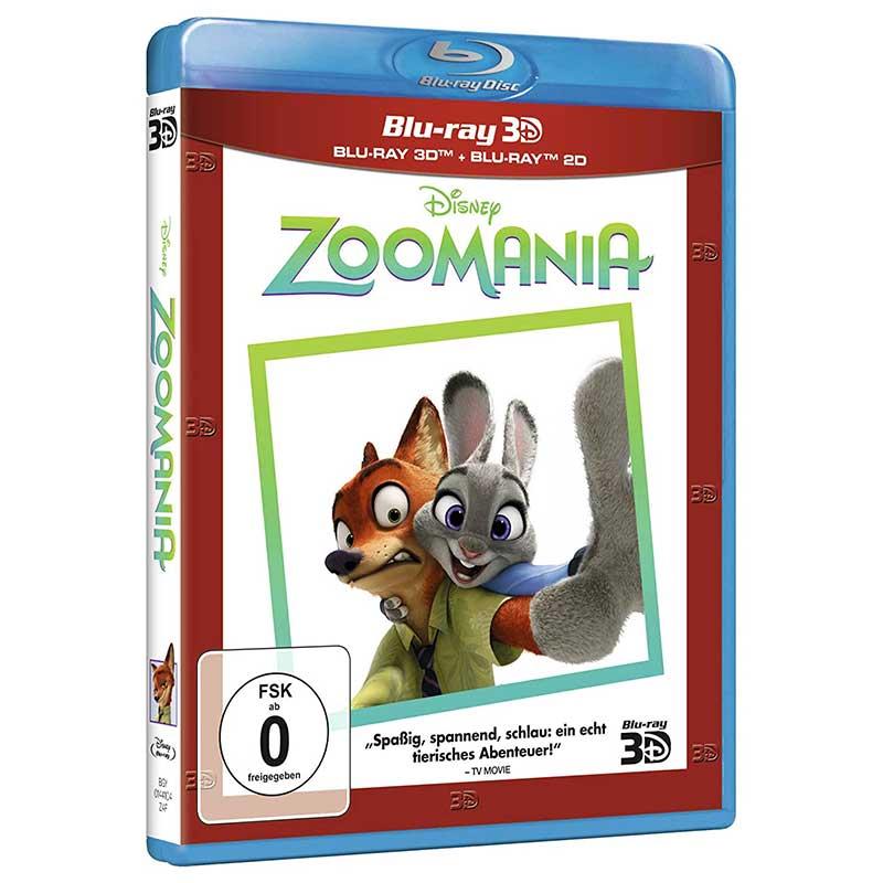 Zoomania (Blu-ray 3D + 2D) für 7,99€