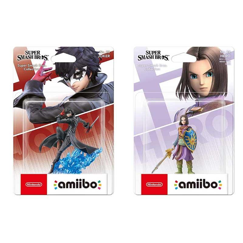 """amiibo Figuren """"Joker"""" und """"Hero"""" (Super Smash Bros. Collection) erscheinen am 25. September"""