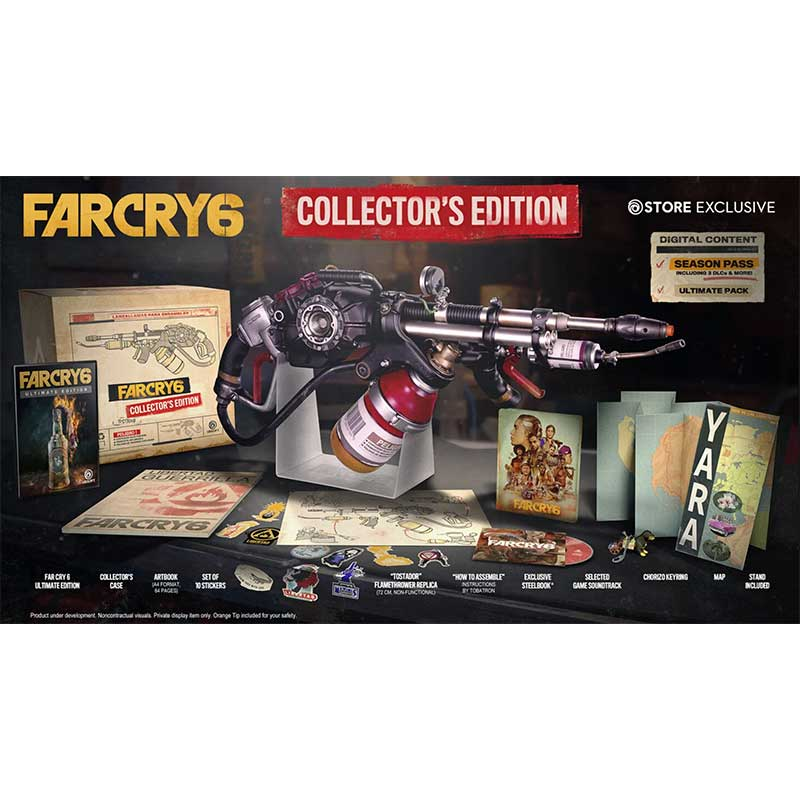 Far Cry 6 – Collectors Edition | Ultimate Edition | Gold Edition | weitere Varianten