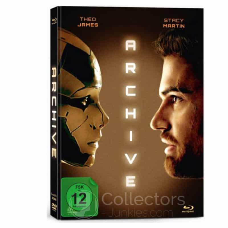 Archive – Mediabook Edition (Blu-ray + DVD) für 11,97€