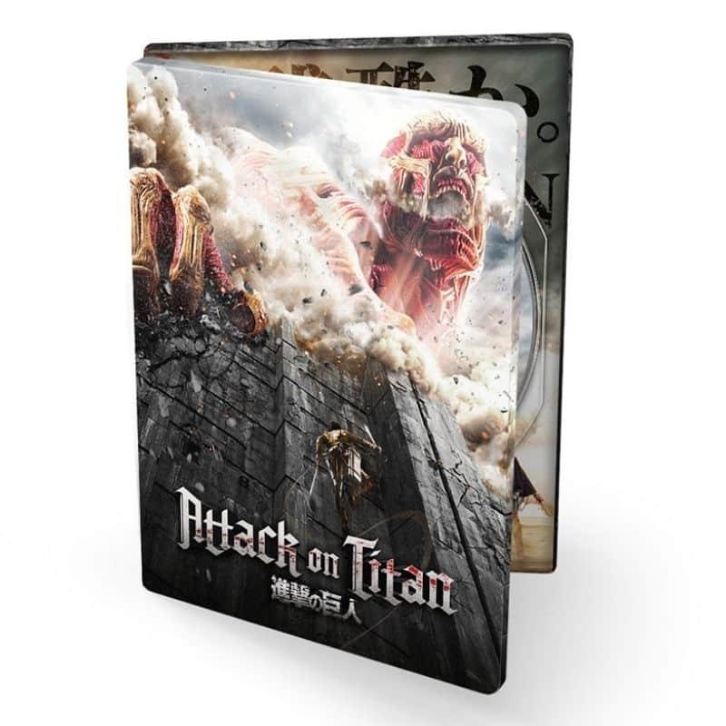 Attack on Titan – Film 1 – Steelbook Edition (Blu-ray) für 6,97€