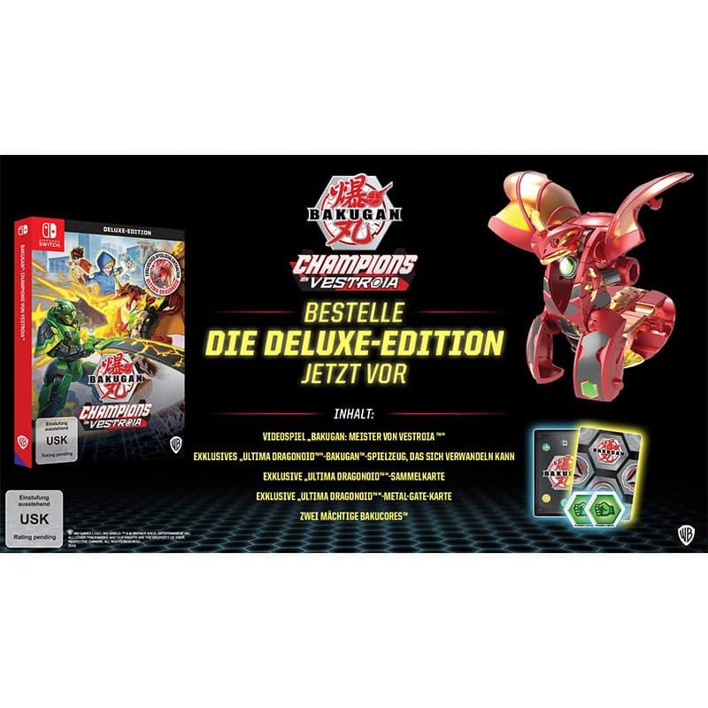 """""""Bakugan Champions von Vestroia"""" ab 05. November in der Deluxe Edition (Nintendo Switch)"""