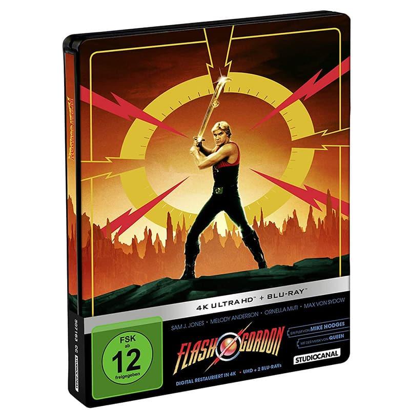 Flash Gordon – Steelbook Edition (4K UHD + Blu-ray) für 25,73€