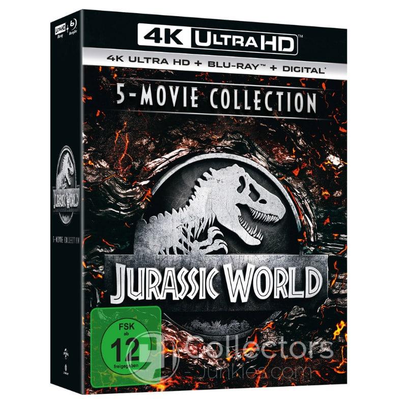 Jurassic World 5-Movie Collection (4K UHD + Blu-ray) für 48,99€