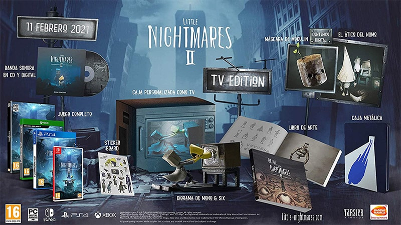 """Little Nightmares II"" ab Februar 2021 in der TV Edition"