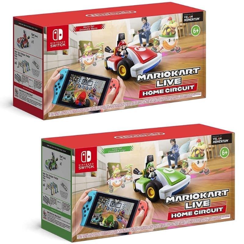 Mario Kart Live: Home Circuit – Mario Set & Luigi Set