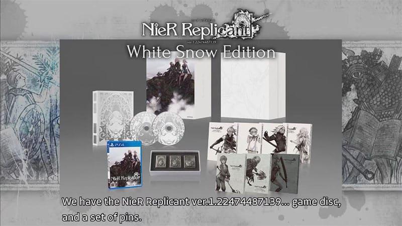 """""""NieR Replicant ver. 1.22474487139"""" erscheint in der """"White Snow Collectors Edition"""" für Playstation 4, Xbox One/ Series X und PC"""