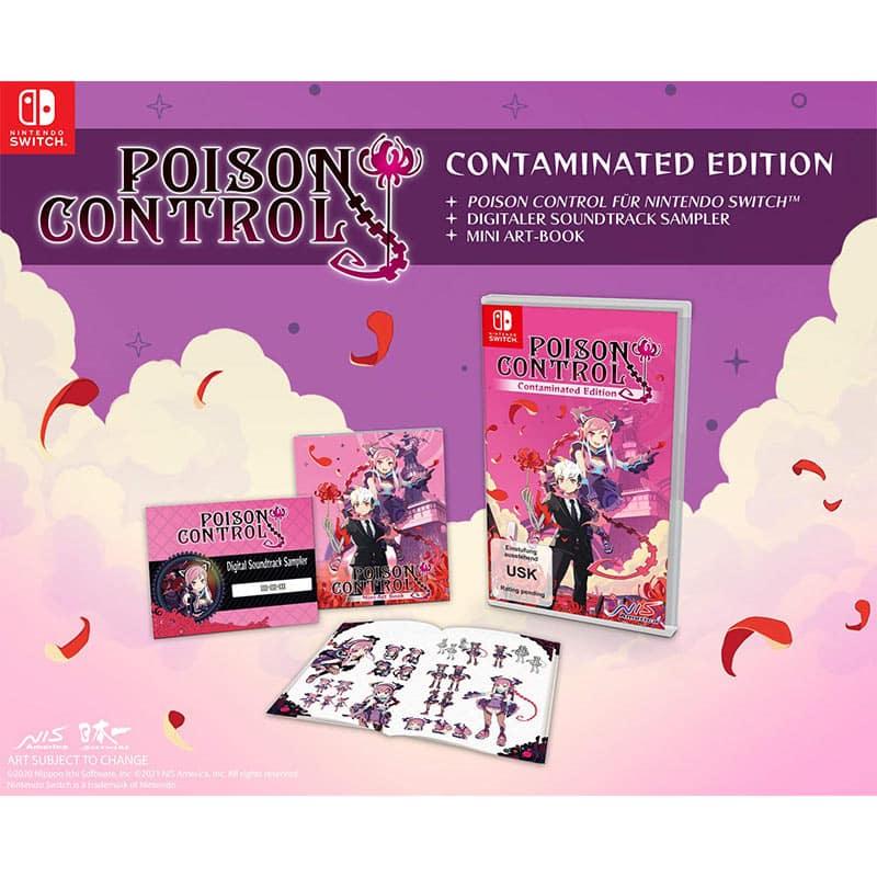 """Poison Control"" ab 31. März 2021 in der Contaminated Edition (Nintendo Switch)"