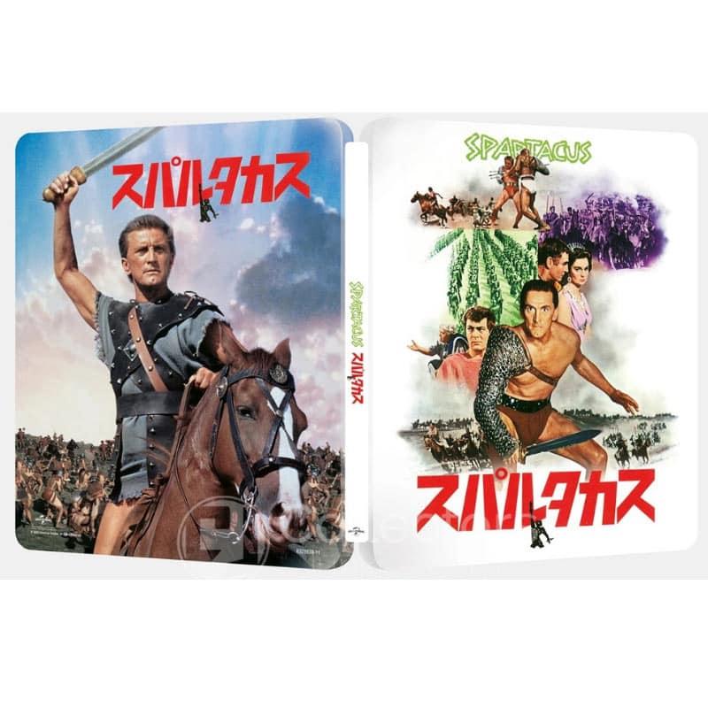 Spartacus – Steelbook Edition (Japan Design) (4K UHD + Blu-ray) für 30,44€