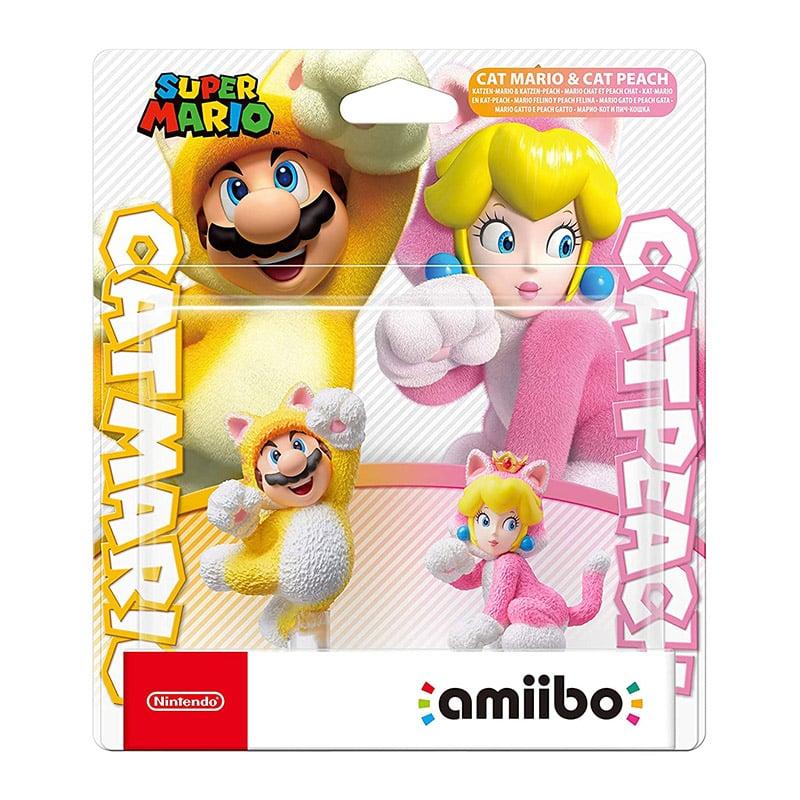 amiibo Doppelpack: Katzen-Mario und Katzen-Peach (Nintendo Switch)