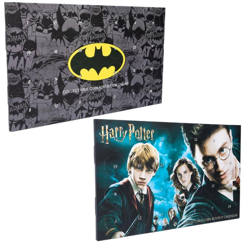 Batman und Harry Potter Collectable Coin Advents Kalender (England)