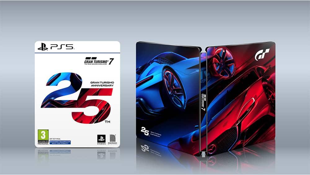 """""""Gran Turismo 7"""" ab März 2022 als 25th Anniversary Edition inkl. Steelbook für Playstation 5/4 – Update"""