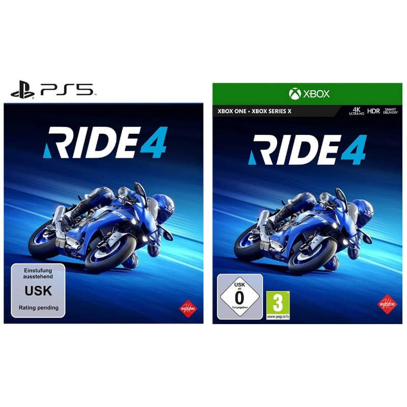 """""""RIDE 4"""" ab 08. Oktober für PS4, Xbox One und PC – ab Januar 2021 für PS5 und Xbox Series X"""
