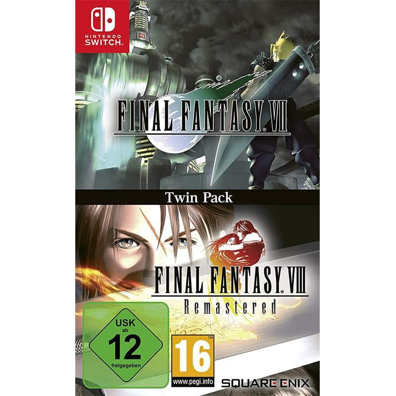 """""""Final Fantasy VII & Final Fantasy VIII Remastered"""" ab 04. Dezember im Twin Pack für die Nintendo Switch"""