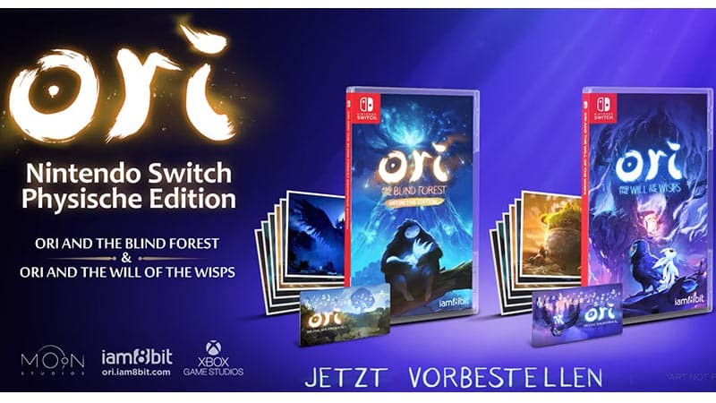 """""""Ori and The Blind Forest"""" und """"Ori and the Will of the Wisps"""" ab 08. Dezember für Nintendo Switch"""