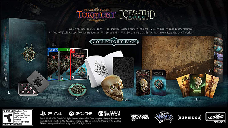Planescape: Torment & Icewind Dale Enhanced – Collector's Edition [Playstation 4] für 29,95€