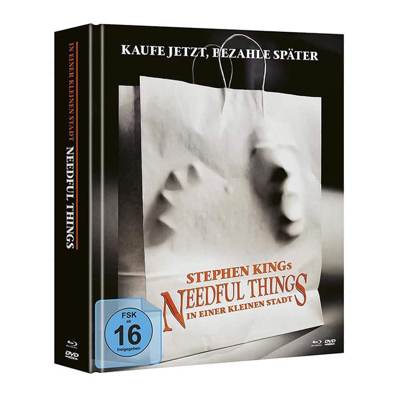 Stephen Kings Needful Things – In einer kleinen Stadt – Mediabook Edition (Blu-ray + DVD) für 25,63€