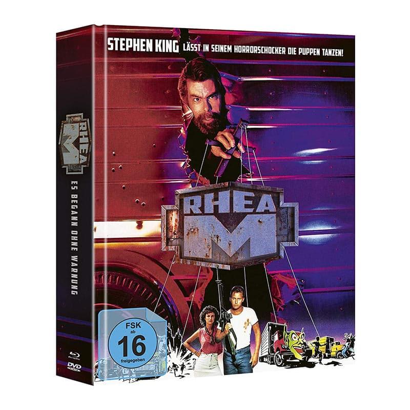 Stephen Kings Rhea M – Es begann ohne Warnung – Mediabook Edition (Blu-ray + Bonus Blu-ray + DVD) für 15,60€