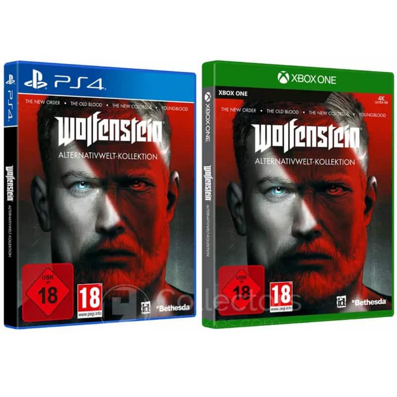 """""""Wolfenstein Alternativwelt-Kollektion"""" ab 30. Oktober für die Playstation 4 und Xbox One"""