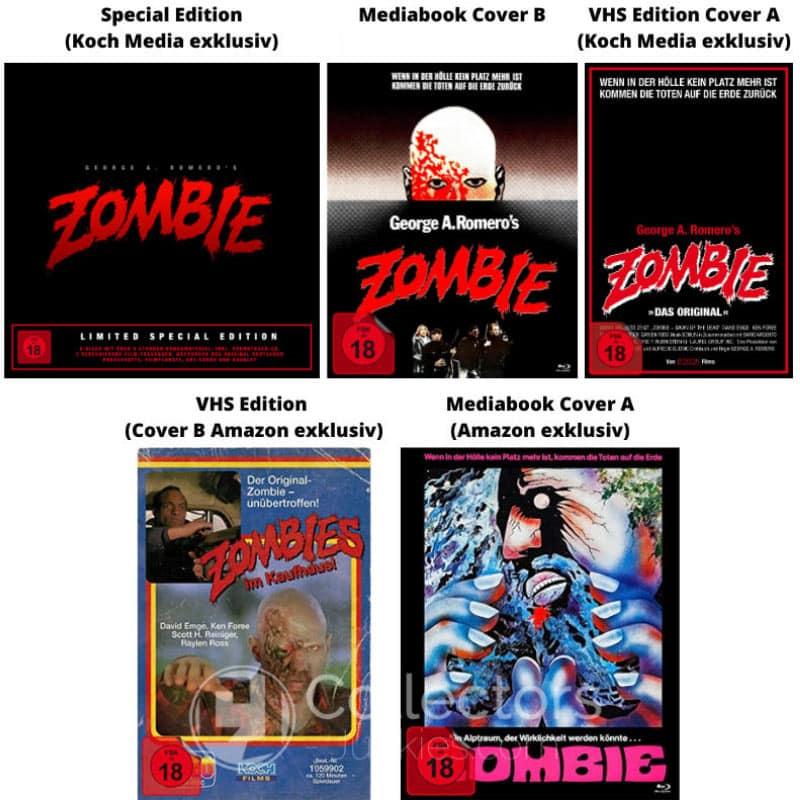 """""""Zombie – Dawn of the Dead"""" ab Dezember in verschiedenen 4K UHD Varianten"""