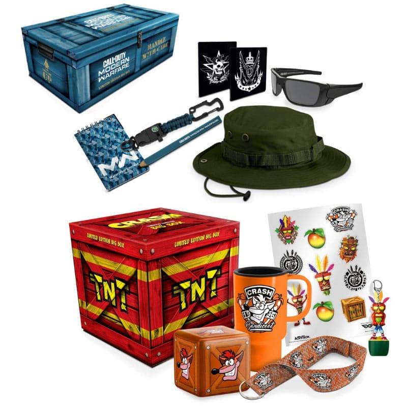 """""""Call of Duty Modern Warfare"""" und """"Crash Universe"""" Merchandise Sets für je 11,99€"""
