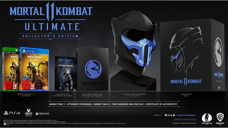 """Mortal Kombat 11 Ultimate"" – Kollector´s Edition und Limited Edition ab 17. November"