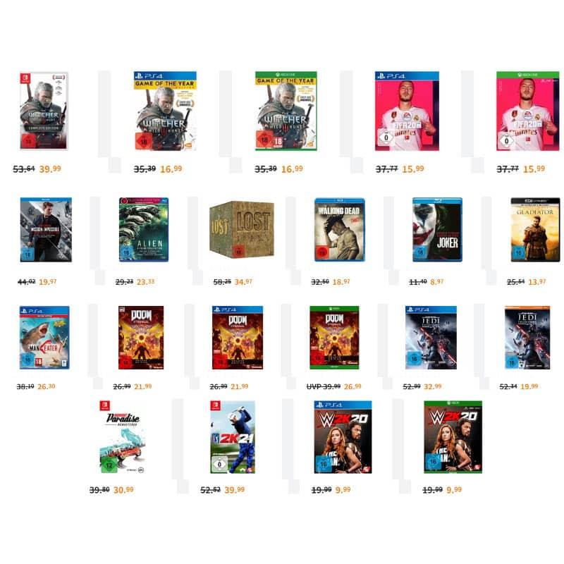 """""""Vergleichen ist Zwecklos"""" Aktion bei Saturn – unter anderem: The Witcher 3 – Wild Hunt (Game of the Year Edition) für 16,99€"""
