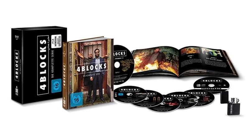 4 Blocks – die komplette Serie in der Amazon exklusiven Blu-ray Collectors Edition für 53,94€