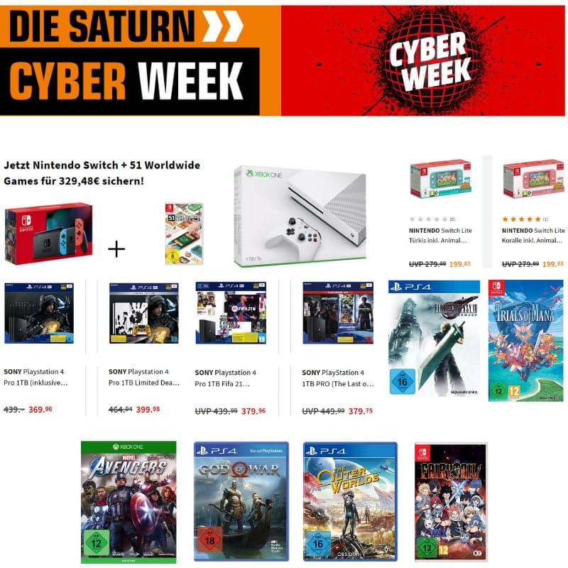 """""""Cyber Monday Week"""" bei MediaMarkt und Saturn"""