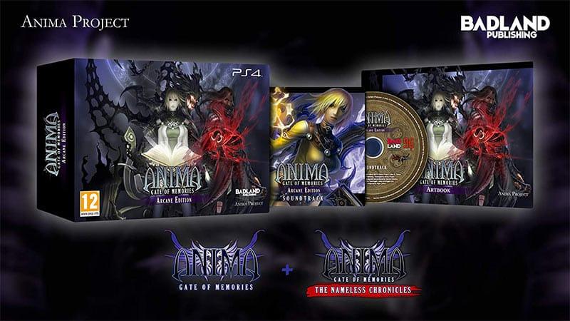 """""""Anima: Gate of Memories"""" ab Dezember in der Arcane Edition (Playstation 4) (England und Frankreich)"""