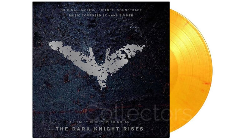 "Hans Zimmer: ""Dark Knight Rises"" Soundtrack auf Vinyl (Flaming Vinyl) 