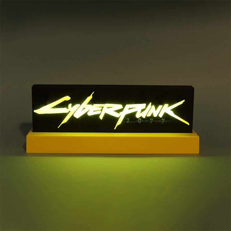 Cyberpunk 2077 Logo Lampe für 44,50€