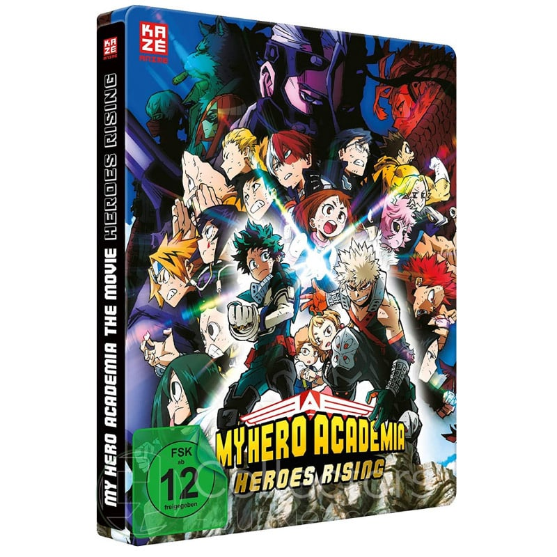 """My Hero Academia: Heroes Rising"" ab Mai 2021 im Blu-ray Steelbook"