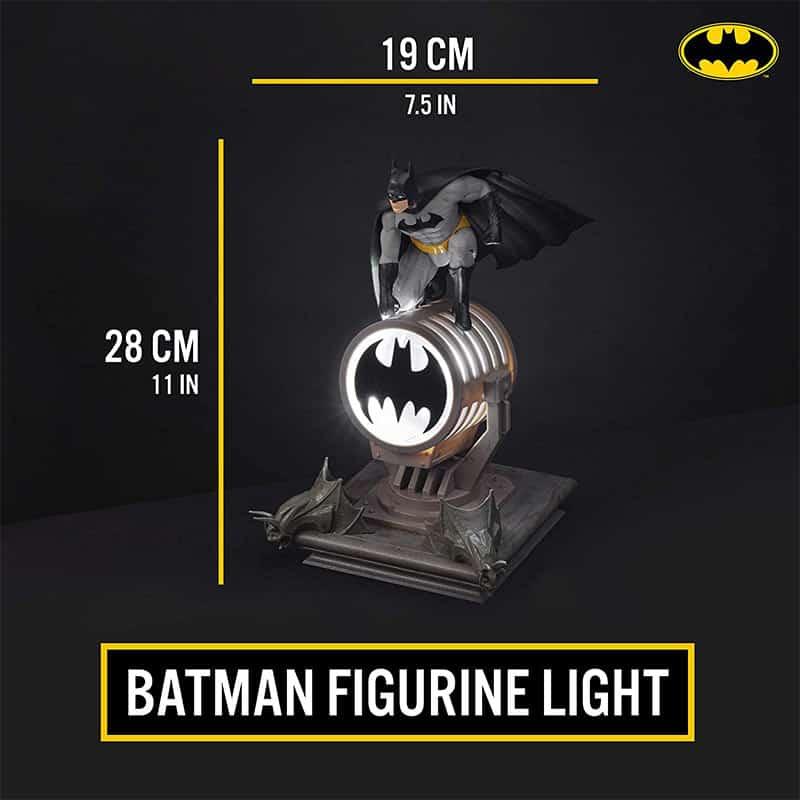 Batman Figur / Logo LED Lampe mit Projektion für 37,66€