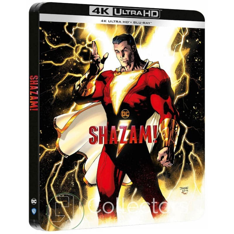 Shazam – Steelbook Edition (4K UHD + Blu-ray) (Frankreich) für 20,52€