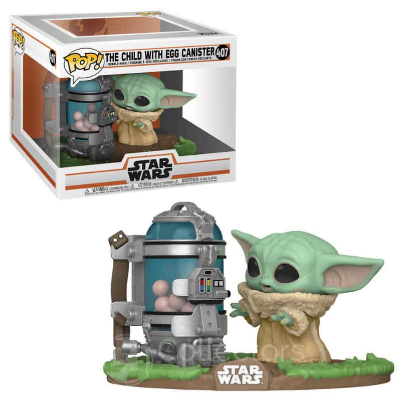 Star Wars Mandalorian: The Child with Egg Canister Funko POP! Figur