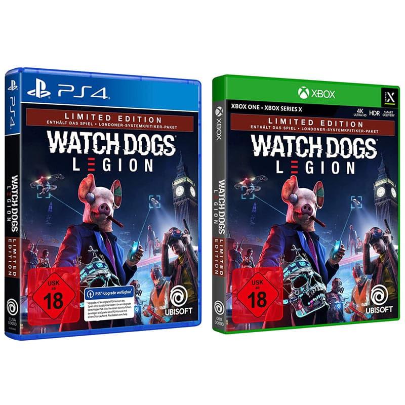 Watch Dogs Legion – Limited Edition (Playstation 4 und Xbox Series X/S/One) für je 16,99€