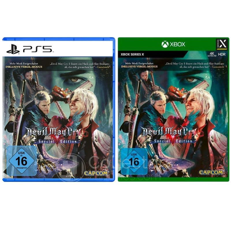 """Devil May Cry 5"" ab 04. Dezember als Special Edition (Playstation 5 und Xbox Series X)"