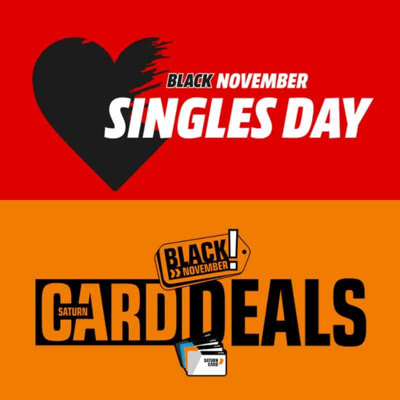 MediaMarkt & Saturn: Singles Day 2020 Aktion – 11% Rabatt auf fast das gesamte Sortiment