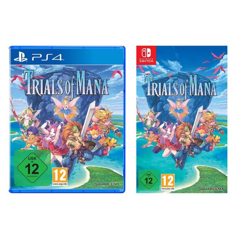 Trials of Mana – Playstation 4 für 25,49€ und Nintendo Switch für 23,50€