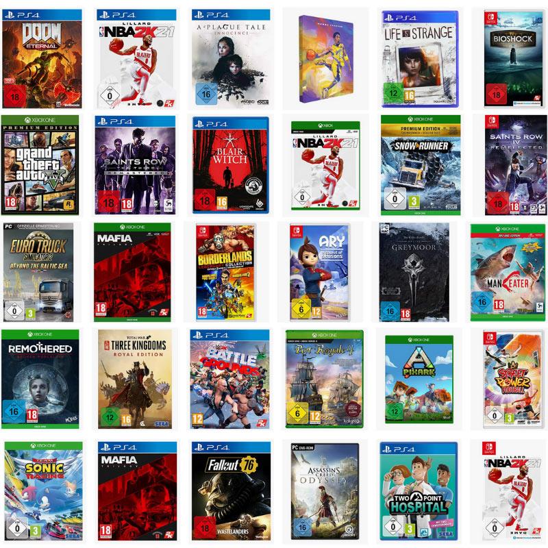 Einige Games für die Playstation 4,  Xbox One, PC, Nintendo Switch reduziert bei Amazon – unter anderem: The Elder Scrolls Online: Greymoor für 33,99€