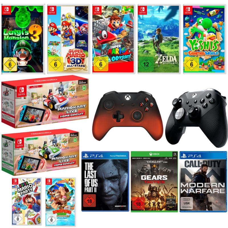 11% Rabatt auf ausgewählte Multimedia-Artikel bei Otto – unter anderem: Switch Spiele für je 43,61€