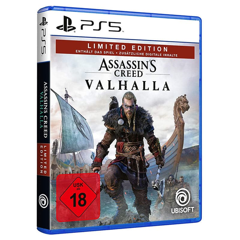 Assassin's Creed Valhalla – Limited Edition  (exklusiv bei Amazon) (PlayStation 5) für 49,99€