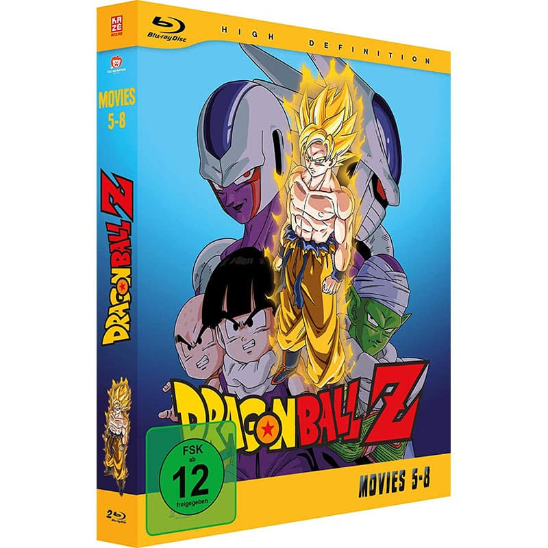 """""""Dragonball Z – Movies"""" zweites Volume (Blu-ray) für 29,22€"""