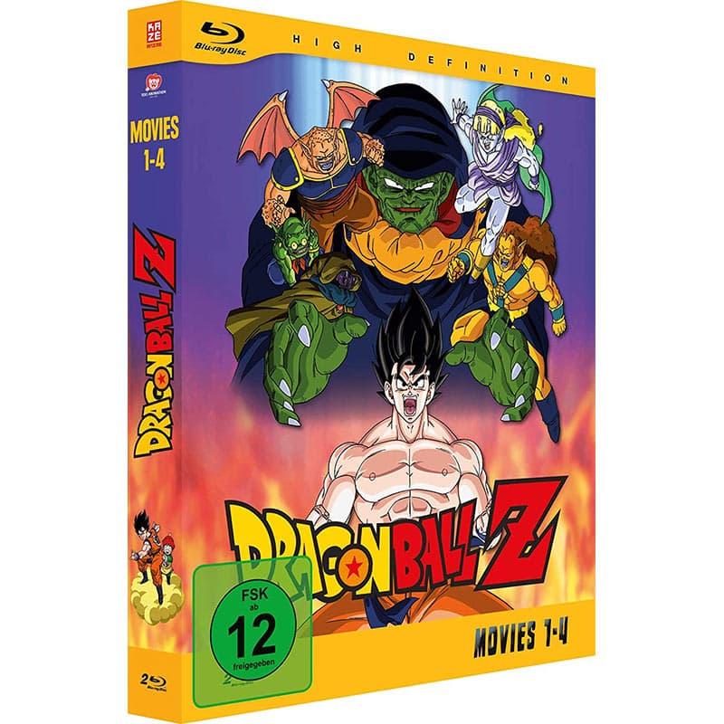 """""""Dragonball Z – Movies"""" erstes Volume (Blu-ray) für 31,60€"""