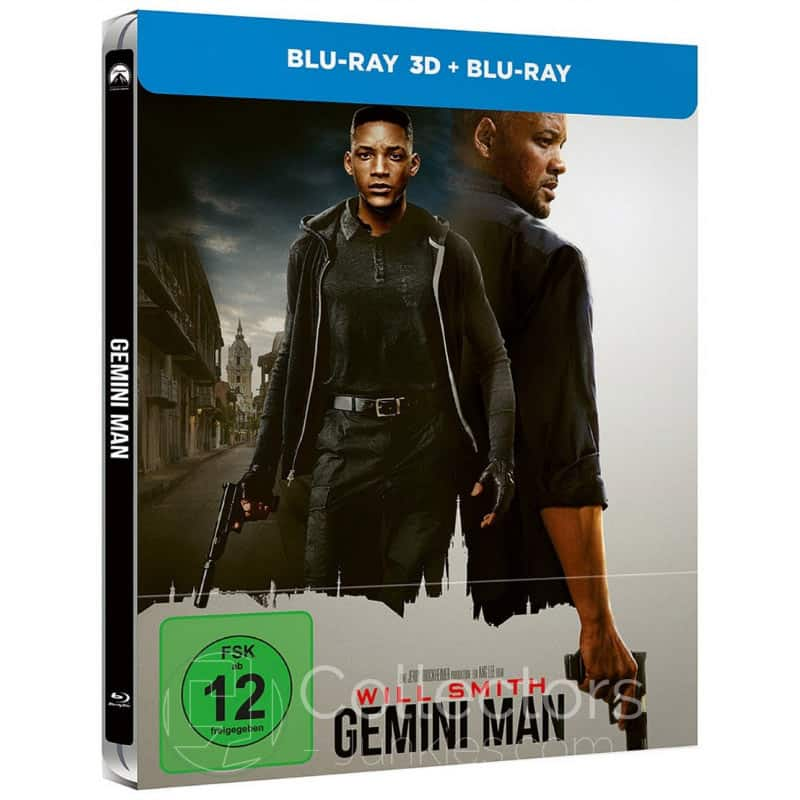Gemini Man – Steelbook Edition (Blu-ray 3D + Blu-ray 2D) für 16,96€