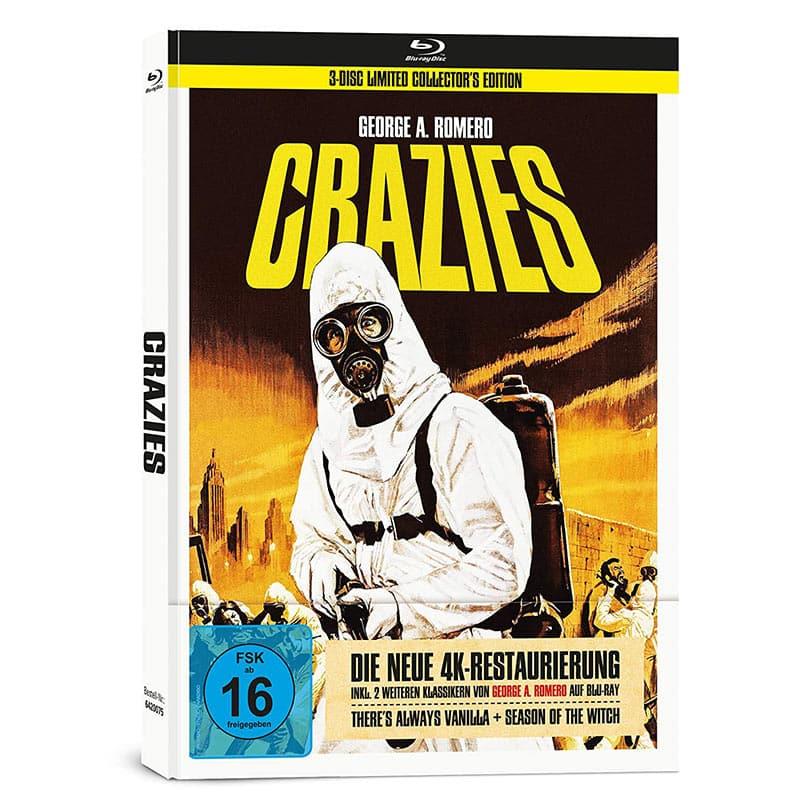 """George A. Romero's """"Crazies"""" im 3-Disc Mediabook für 25,49€"""